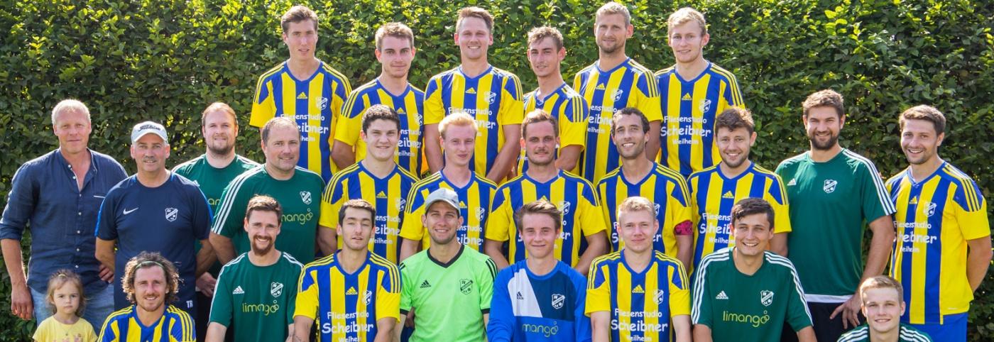 Der Kader des SV Söchering (I u. II)