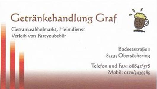 Getränkehandlung Graf - Obersöchering