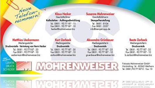 Mohrenweiswer